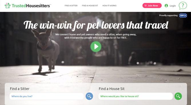 Trusted House Sitters は海外での長期滞在にオススメのウェブサイト