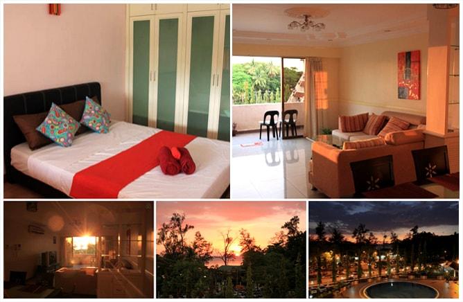 コタキナバルのコンドミニアム滞在は Airbnb が最高!ボルネオ旅行記