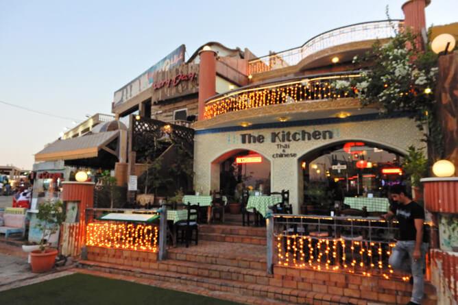ダハブには幅広いレンジのレストランが展開されている