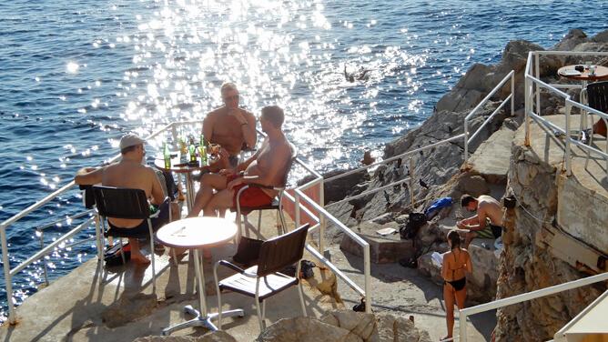 アドリア海の真珠ドゥブロヴニク