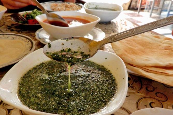 モロヘイヤスープは日本でも人気のエジプト料理