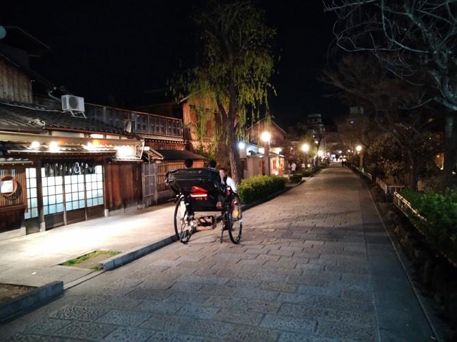 夜の祇園白川 2019年3月8日撮影
