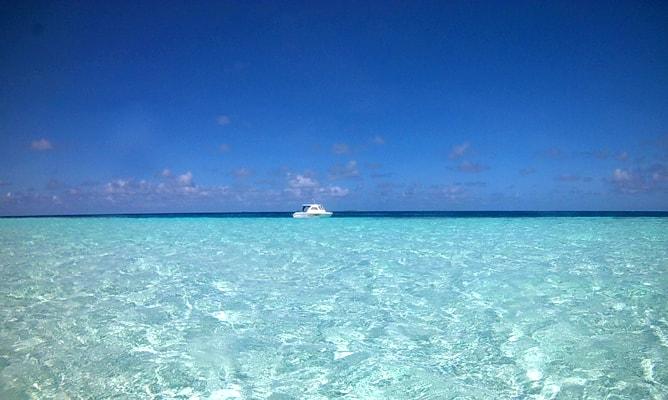 ゴープロ(GoPro)カメラで撮影したモルディブの海