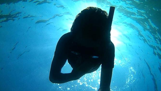 ゴープロ(GoPro)カメラで撮影したコート・ダジュールの水中写真。その1