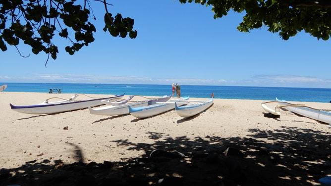 マカハビーチの雰囲気