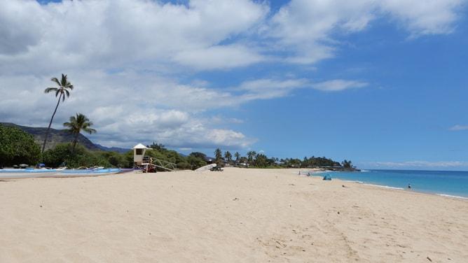 マカハビーチの景観(南側)