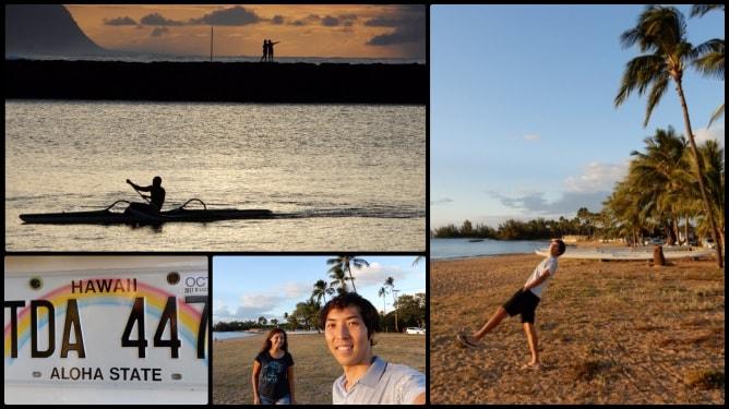 レンタカーがあると穴場スポットへのドライブも簡単!ハワイの夕日はとにかく綺麗