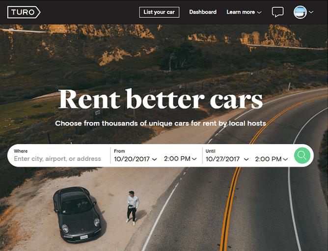 ハワイのどこのレンタカー会社よりも安い「TURO」は、比較サイトには載っていない