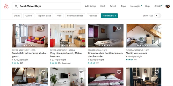 ホテルよりおすすめの Airbnb