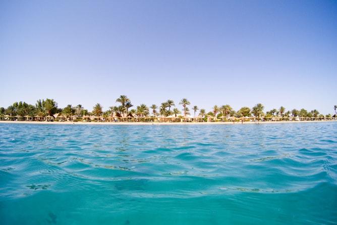 エジプト旅行でビーチに行かないのは勿体無い